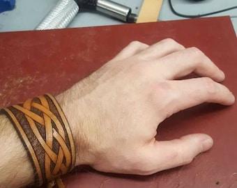 Celtic Bracelet - Hand Carved