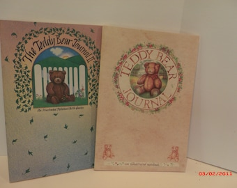 2 The Teddy Bear Journal Illustrated Notebook
