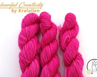 Pre-order: Fuchsia -  Colourful Smooth Sock Kitten