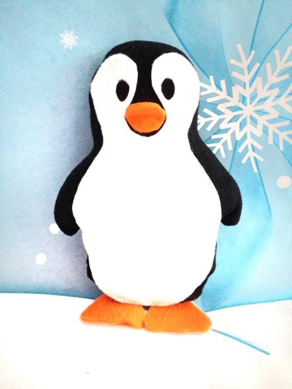 Penguin Plushie Pattern / Penguin Sewing Pattern / Toy Pattern ...