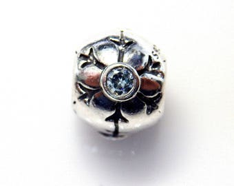 Authentic Pandora Sterling Silver Snow Flake 790367CZA Brand New! (Discontinued)