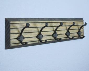 Rustic Coat Rack, Wall Coat Rack, Wood Coat Rack, Hat Rack, Coat Racks, Coat Rack