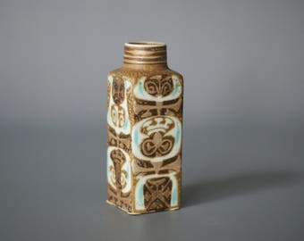 ROYAL COPENHAGEN Vase, Small BACA Faience Series Vase by Nils Thorsson, Danish Porcelain Vase, Danish Modern Vase, Made in Denmark