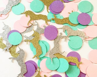 Unicorn Confetti - I Believe in Unicorns Birthday Party - Unicorn Birthday - Unicorn Party Decorations - Unicorn Birthday Party