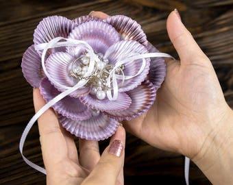 Seashell ring holder Etsy
