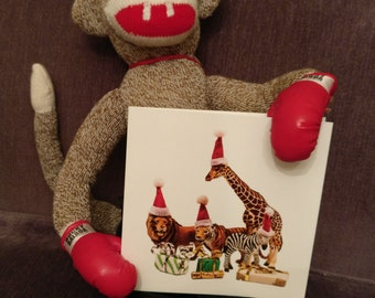 Ten pack of Elephantastic Christmas cards