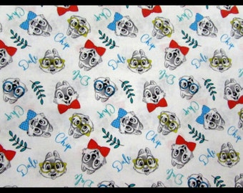 Disney Fabric- Chip N Dale Fabric From Springs Creative