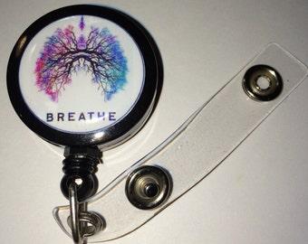 Breathe Themed ID Badge Reel
