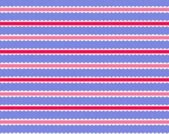 Doily Stripe by Holly Holderman for LakeHouse Dry Goods, Fabric by the yar,d LH12067 Peri