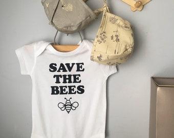 Reversible Bee Bonnet / Insect Bonnet/ Baby Bonnet/ Baby Sun Bonnet/ Spring Bonnet