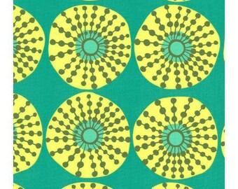 Patchwork fabric Fat Quarter 54 * 45 cm cotton American - Amy Butler - Lark - Green