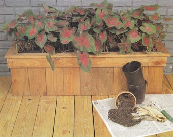Patio Planter Woodworking Plans