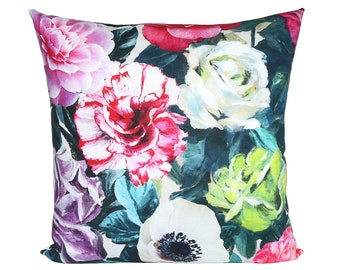 Pandora Peony pillow covers - Made to Order - Designers Guild