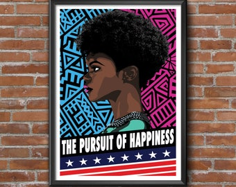 Equality Protest Print, Protest Art, Protest Poster, Women's March, Equal Rights, Digital Download, Printable Art, Wall Art, Download