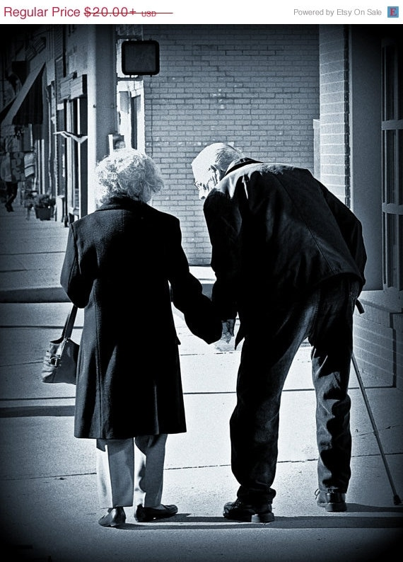 Items similar to on sale still in love photograph older couple holding hands black and white photography americana americana art on etsy