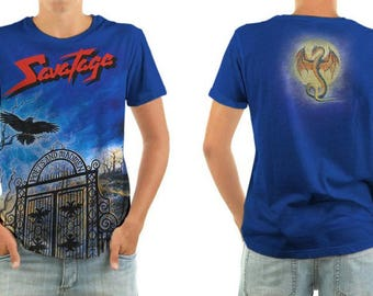 SAVATAGE poets and madmen shirt all sizes