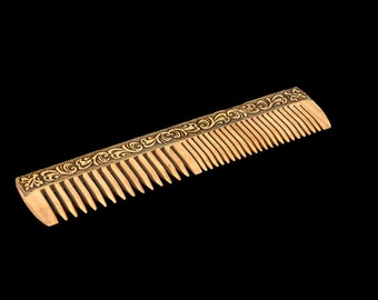 Wooden hair comb, Wood comb, Anti-static comb, Natural wood comb, Gift for her