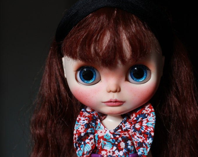 Ooak custom blythe doll, Pirate blythe doll