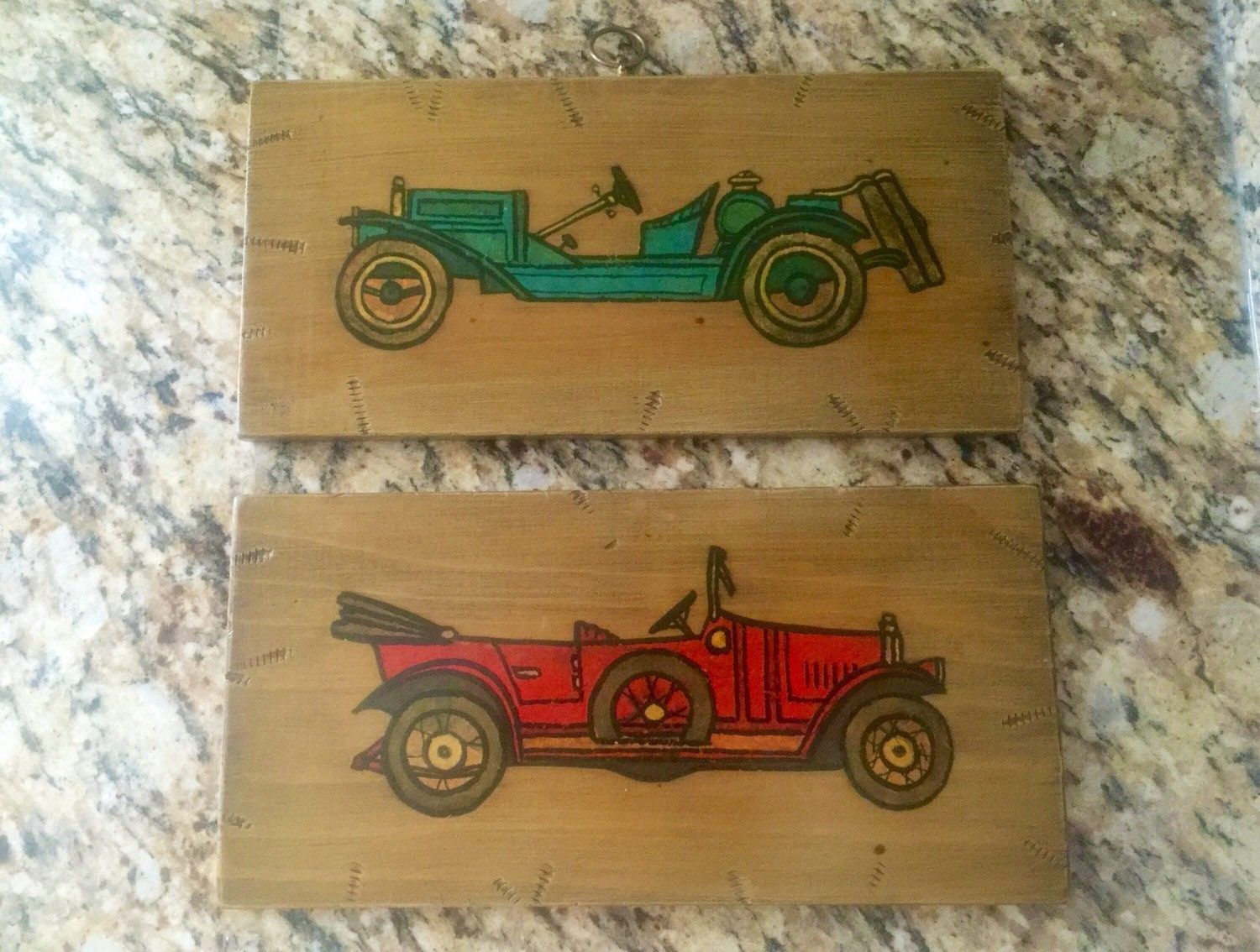 Vintage Car Pictures 1920s Car Decor man cave decor Boy Room Decor ...
