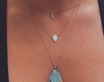 Abalone Rays of Sunshine Necklace