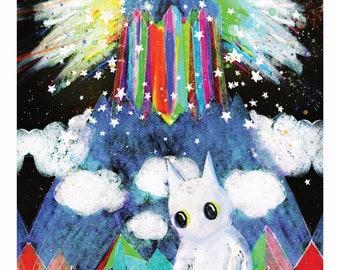 Mountain Spirit - Art Print