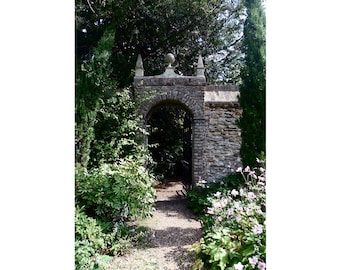 gate to the Master's garden, Magdalene College, Cambridge — limited edition archival print