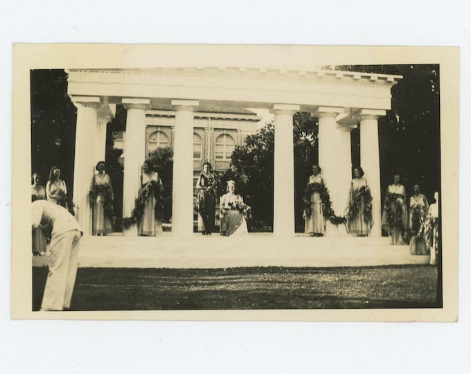 Pageant, c1930s: Vintage Snapshot Photo  (72552)