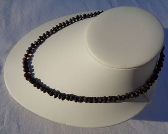 Raw Baltic Amber Necklace, Amber Necklace For Adults, BLACK CHERRY Amber, Pain Relief, Headache, Back Pain, Reduce Swelling, Choose Size
