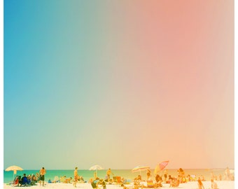 Beach Photograph - Fine Art - Nature Photography - Florida Photograph - Life In The Sun - Landscape Photograph - Coast Art - Seaside Print
