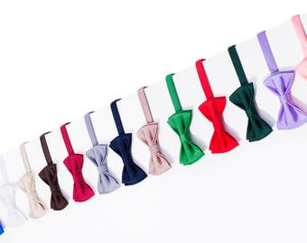 Handmade bow ties designed specially for multi dresses