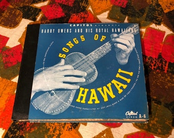 Songs of Hawaii by Harry Owens 4 Album Collection 78s