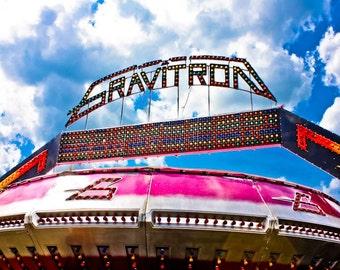 Surreal Carnival Gravitron Spin Ride Fine Art Print- Carnival Art, County Fair, Nursery Decor, Home Decor, Children, Baby, Kids