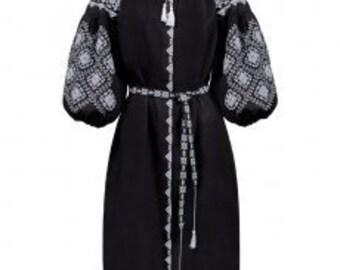 Dress Ukrainian Vyshyvanka Dress Embroidered Women Dress Gift for Her Gift for Girl Gift for Wife