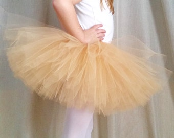Gold Birthday Tutu | 1st Birthday Tutu | 1st Birthday Outfit | Gold Tulle Skirt | Baby Tutu | Toddler Tutu | Baby Shower | Gift