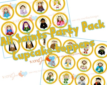 All Saints Party Pack Printable PDF