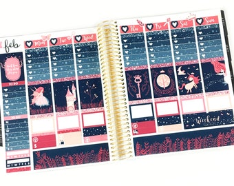 To The Stars Planner Stickers Weekly Kit - For use with Erin Condren Vertical Lifeplanner // 20