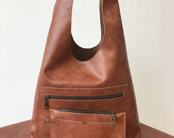 Shopper bag Athene with internal pouch