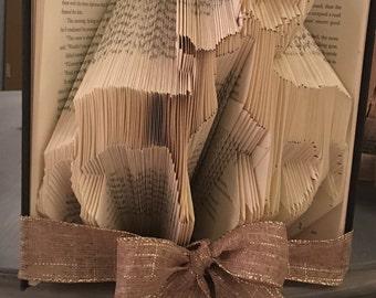 Folded Book Art- Deer