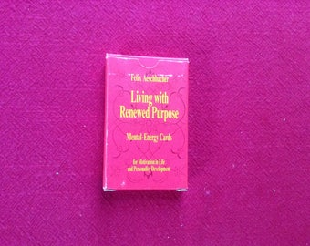 Living with Renewed Purpose Cards. 1992 Edition.
