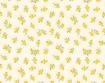 extra15 20% OFF Penny Rose Fabrics Lily By Sue Penn Floral Yellow