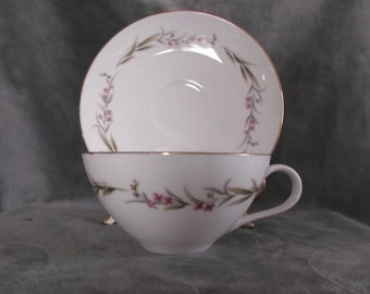 Prestige Fine China Cup and Saucer 3 sets