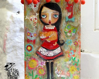 Love Never Dies, 2012 mixed media painting