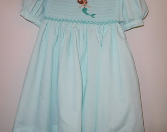 Hand Smocked Dress Size 4
