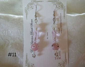 Clearance Sale:  Dangle Earrings Your Choice, Five Different Pairs on Each Listing E11-15