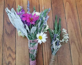 Wedding bouquets/boutonniere/weddings/bride/groom/ceremony