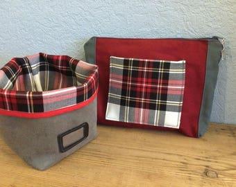 Set Kit toiletry bag + empty Pocket