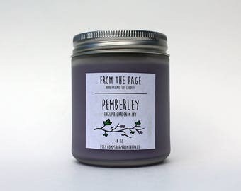 Pemberley Soy Candle - 8 oz