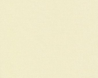 Robert Kaufman - Kona Cotton - Eggshell - Cotton Woven Fabric