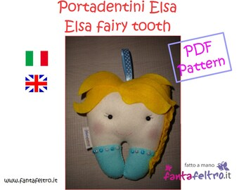 PDF pattern Elsa Fairy Tooth