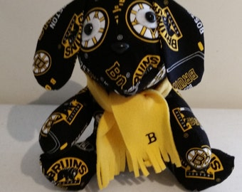 Boston Bruins Stuffed Puppy